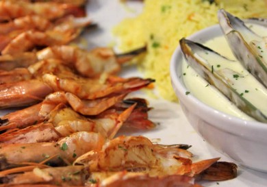 Platter - Jimmy's Killer Prawns - seafood restaurant -Limassol