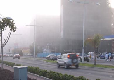 Туман в Лимассоле
