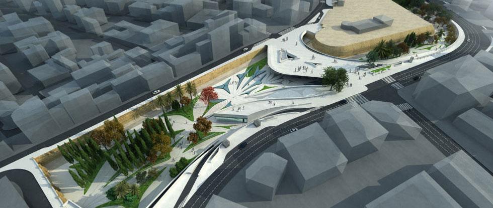 Проект площади Элефтерия