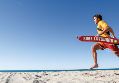 Пляжный спасатель
