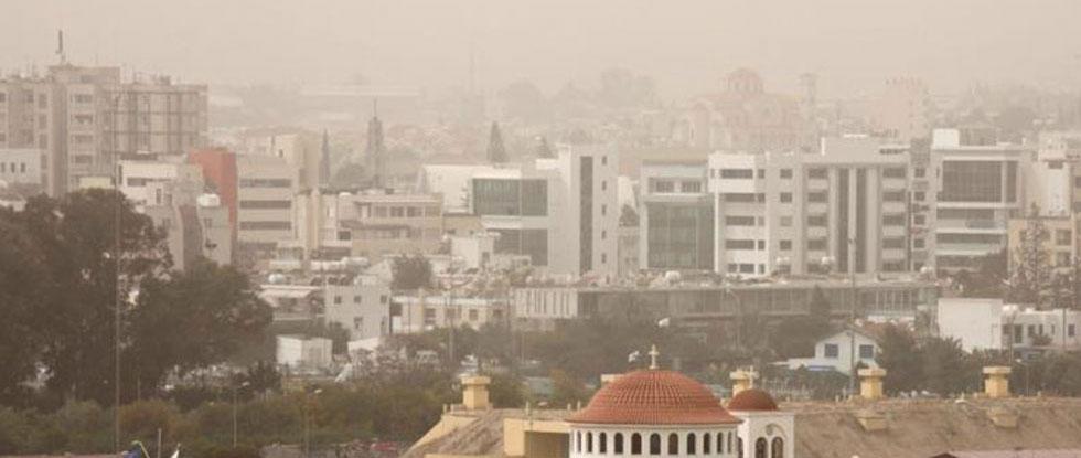 Африканская пыль