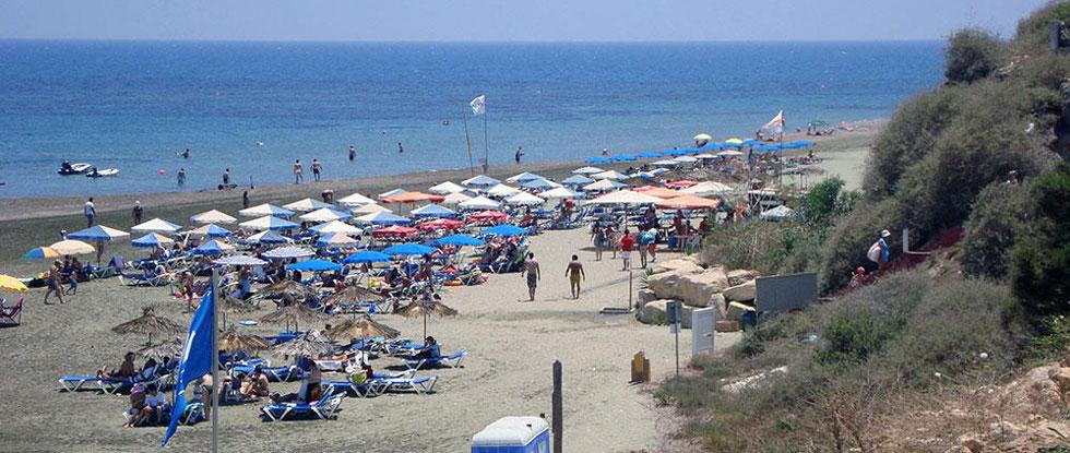 Пляж Ларнаки