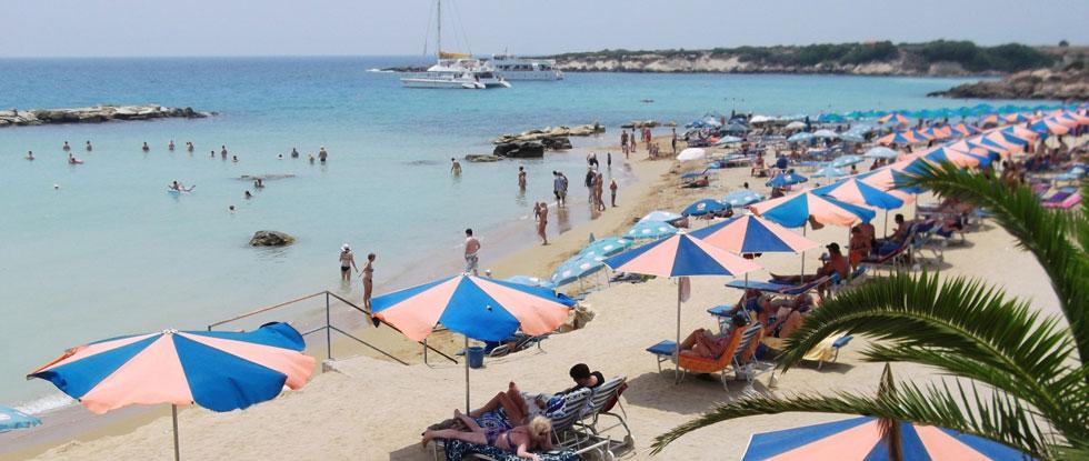 Пафос, пляж