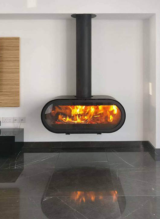 Thermodynamics gas and wood burning stoves and fires in Cyprus