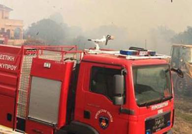 Пожар в Пафосе
