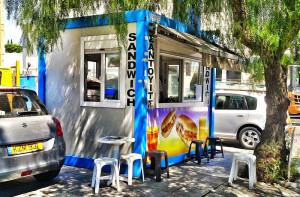 Sandwich Kiosk in Cyprus