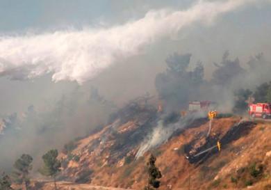 Пожары в Лимассоле и Никосии
