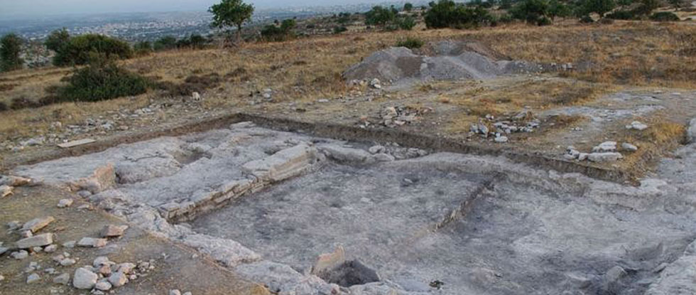 Раскопки в районе Эрими в Лимассоле