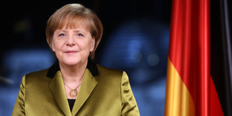 Chancellor Angela Merkel Holds New Year's Address