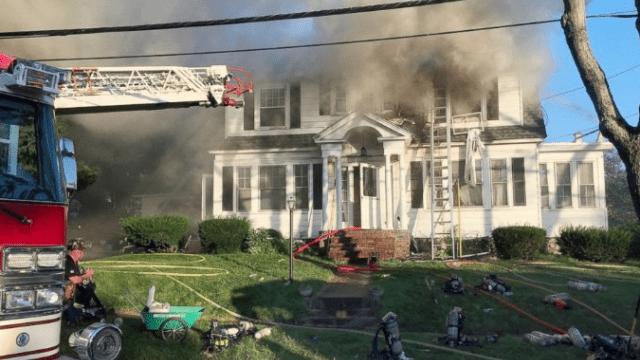 газа произошли взрывы почти в 40 домах