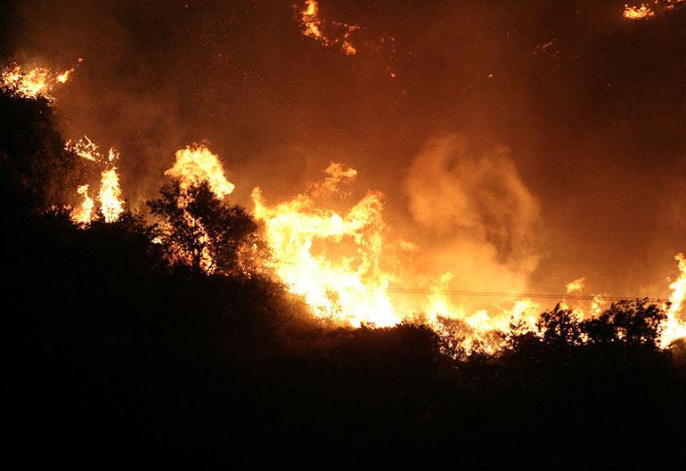 Fire at Saitas Village